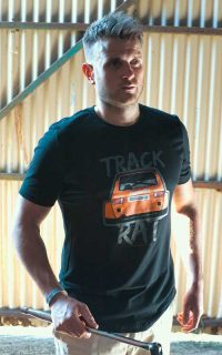 8380 Laboratories Track Rat T-shirt, Orange Jagermeister Bergcup Mk1 Golf
